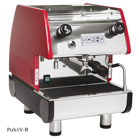 la Pavoni PUB 1V-R 1 Group,Volumetric, Red
