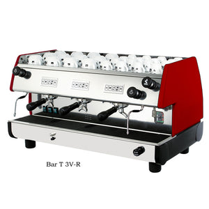La Pavoni BAR-T 3V-R 3 Group, Red