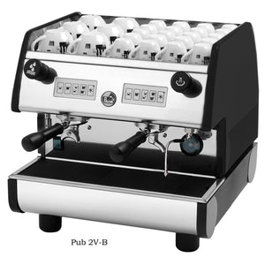 La Pavoni PUB 2V-B, 2 Group volumetric, Black