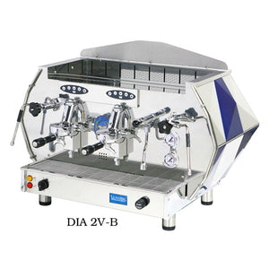 La Pavoni DIA 2V-B, 2 group Volumetric, 4370W / 230V 14 liter boiler