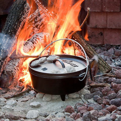 Image of Cast Iron Deep Camp Dutch Oven