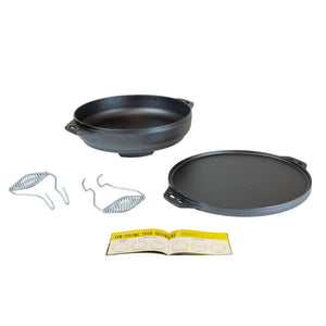 Cast Iron Cook-it-All 14 Inch