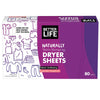Better Life Dryer Sheets, Lavender Grapefruit,6-Pack