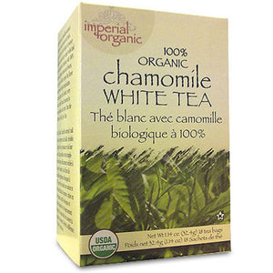 Uncle Lee's Imperial Organic Tea - White Chamomile, 18-Count