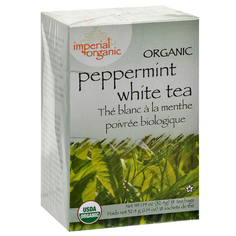 Uncle Lee's Imperial Organic Tea - White Peppermint