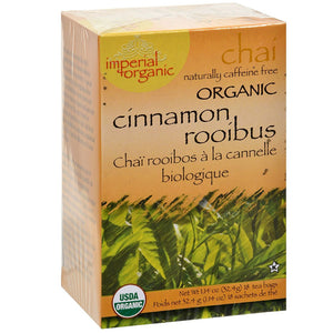 Uncle Lee's Tea Imperial Organic Cinnamon Rooibus Chai Tea Bags