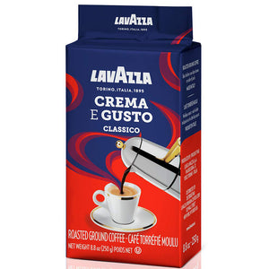 LavAzza Crema e Gusto Ground Coffee 8.80 oz