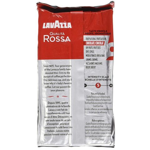 Image of LAVAZZA Qualita Rossa Brick Coffee, 8.8 OZ