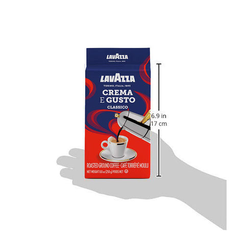 Image of LavAzza Crema e Gusto Ground Coffee 8.80 oz