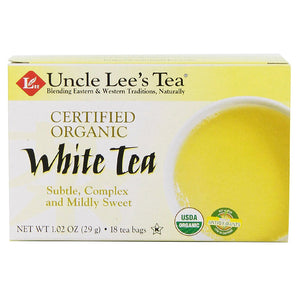 Organic White Tea 18 Bag(S)