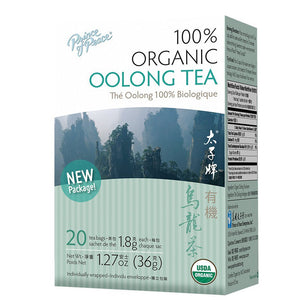 Organic Oolong Tea Prince Of Peace 20 Tea Bags. 1.27 oz, Pack of 20