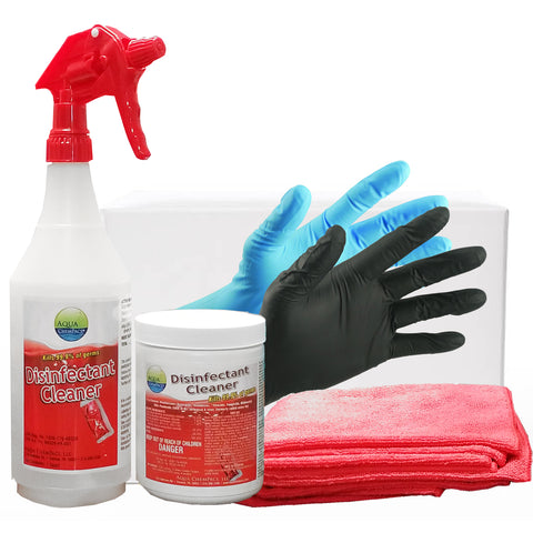 Image of Eco Friendly Disinfectant Water Soluble Spray Pod Kit
