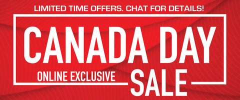 CANADA DAY SALE-- OUR ONLINE EXCLUSIVE SALE