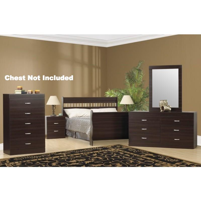 Betty 7 Pc Bedroom (Double or Queen)