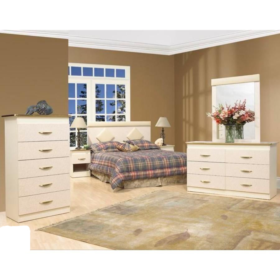 Bernie 6 Pc Bedroom (Double or Queen)