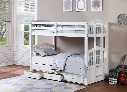 Jackson Single-Single Trundle Bunk Bed