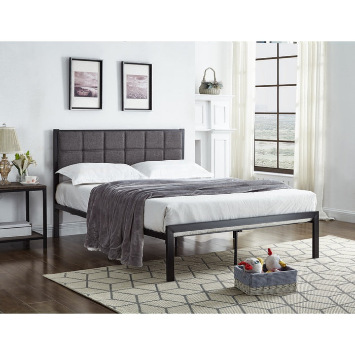 Amber Metal Bed