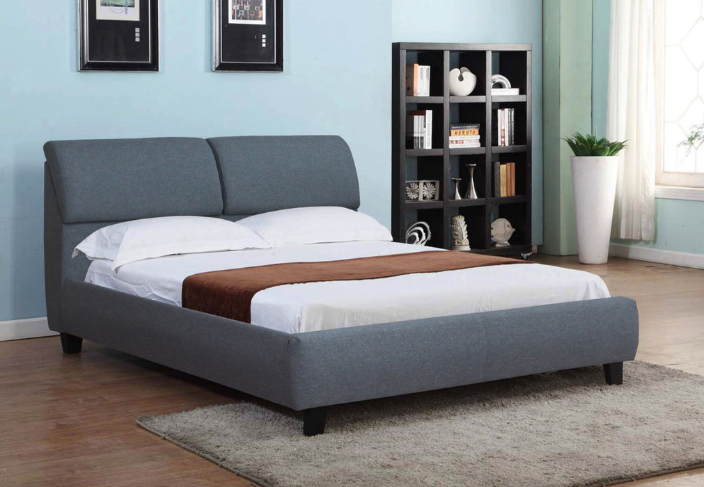 Allstar Upholstery Bed with Storage Headboard