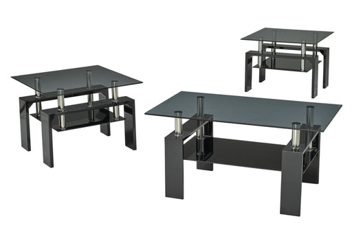 Maxwell 3 Pc Coffee Table