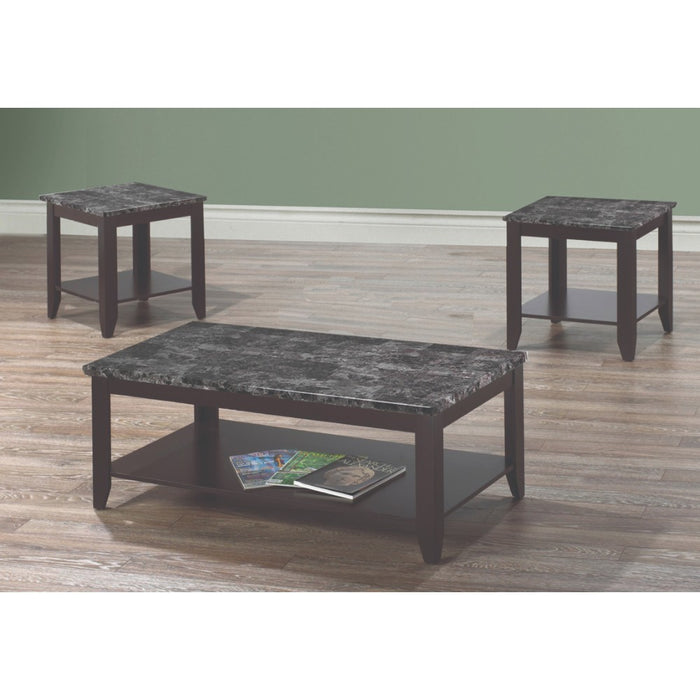 Tessa 3 Pc Coffee Table