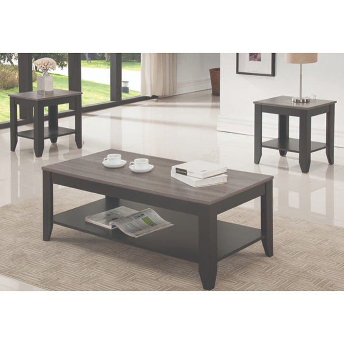 Tina 3 Pc Coffee Table