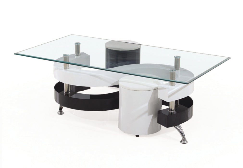 Milly 1 Pc Coffee Table with Stools