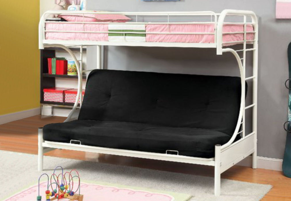 Justin Single-Futon Bunk Bed