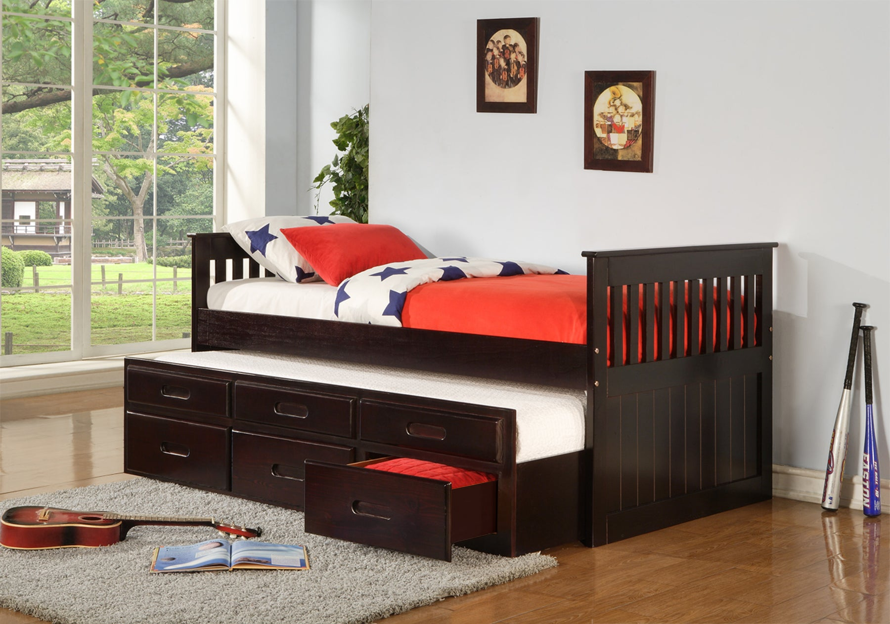 Carly Single Single Captain Bed With Drawers Furniture Club Online Inc