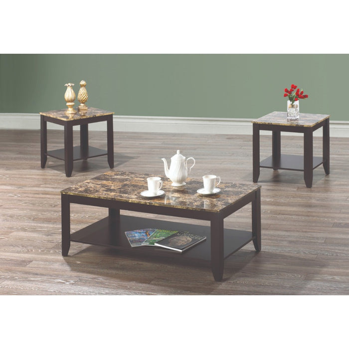 Trina 3 Pc Coffee Table