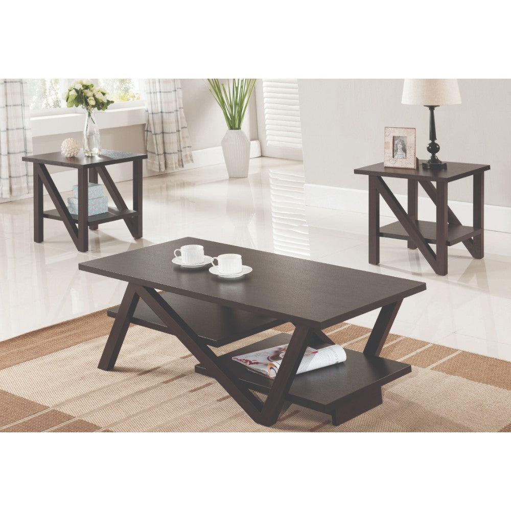 Trudy 3 Pc Coffee Table