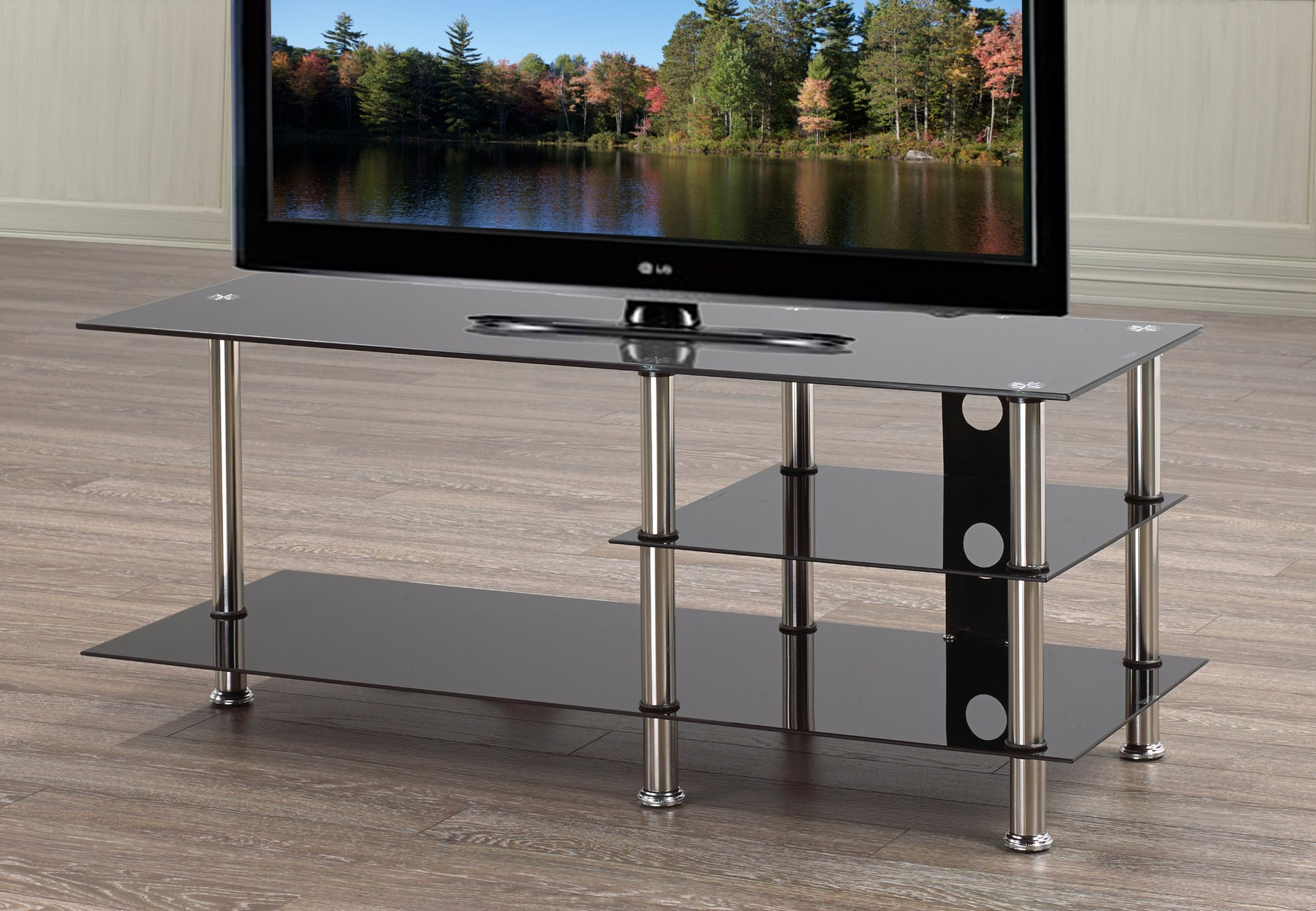 Tabitha Glass TV Stand