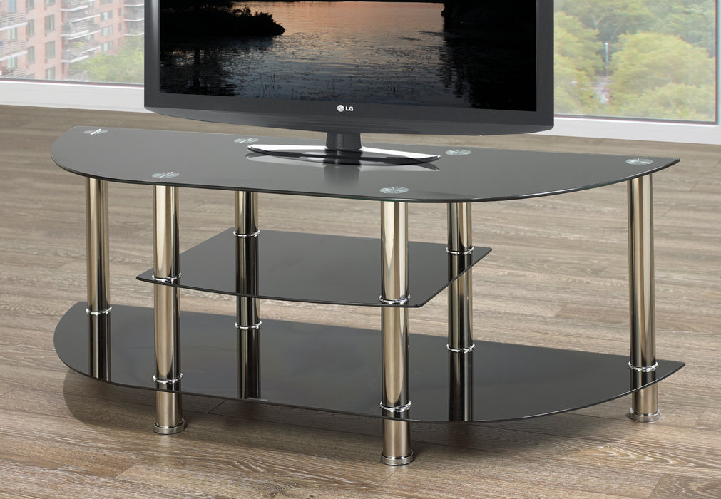 Troy Glass TV Stand