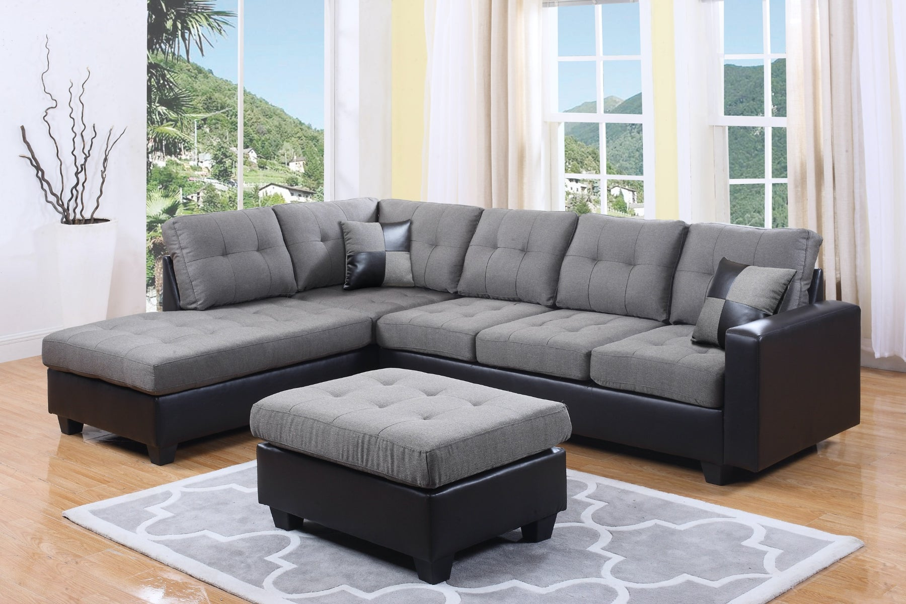 Sydney 2 Pc Sectional Sofa