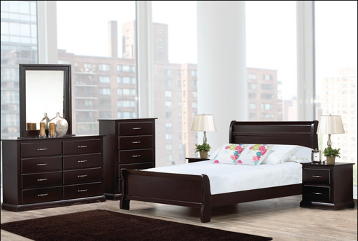 Cherry 8 Pc Bedroom Set