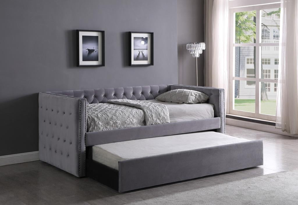 Cooper Single - Single Day Bed with Trundle and Mattresses