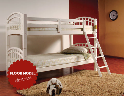 Josh Single-Single Wood Bunk Bed