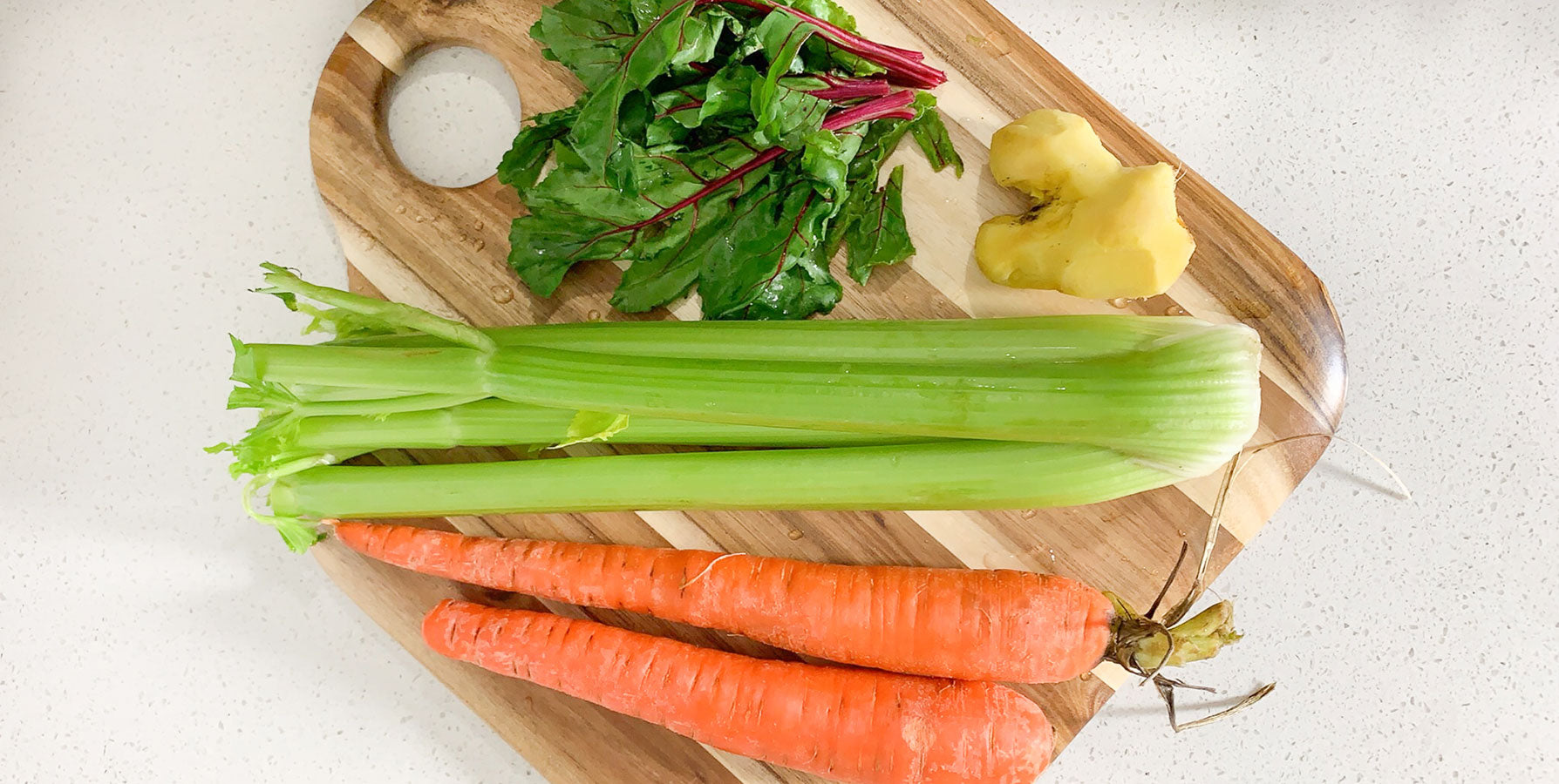 ingredients for juicing recipe