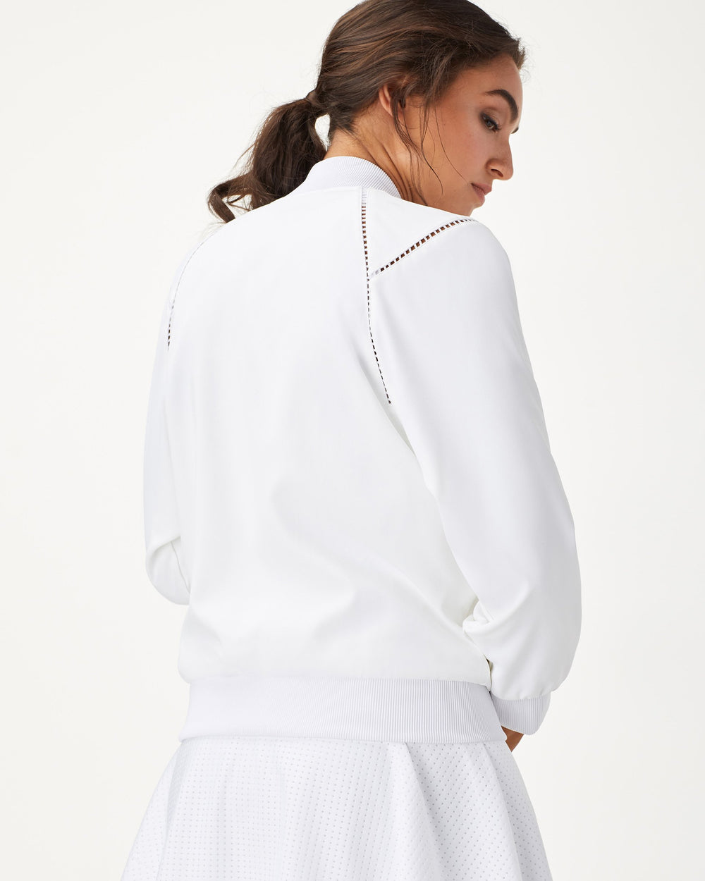 1-Love Tennis Jacket - White