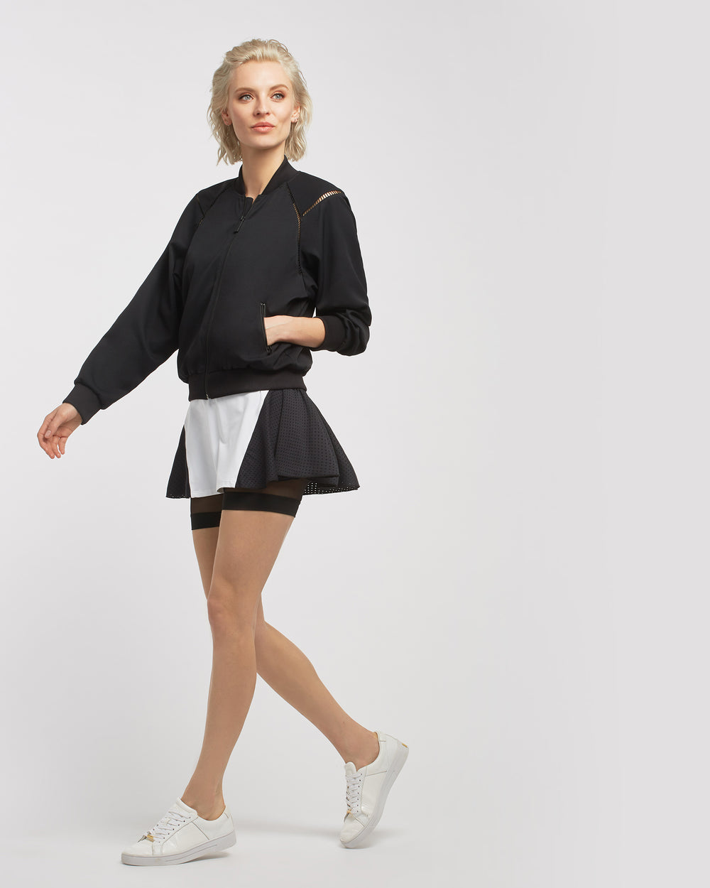 1-Love Tennis Jacket - Black
