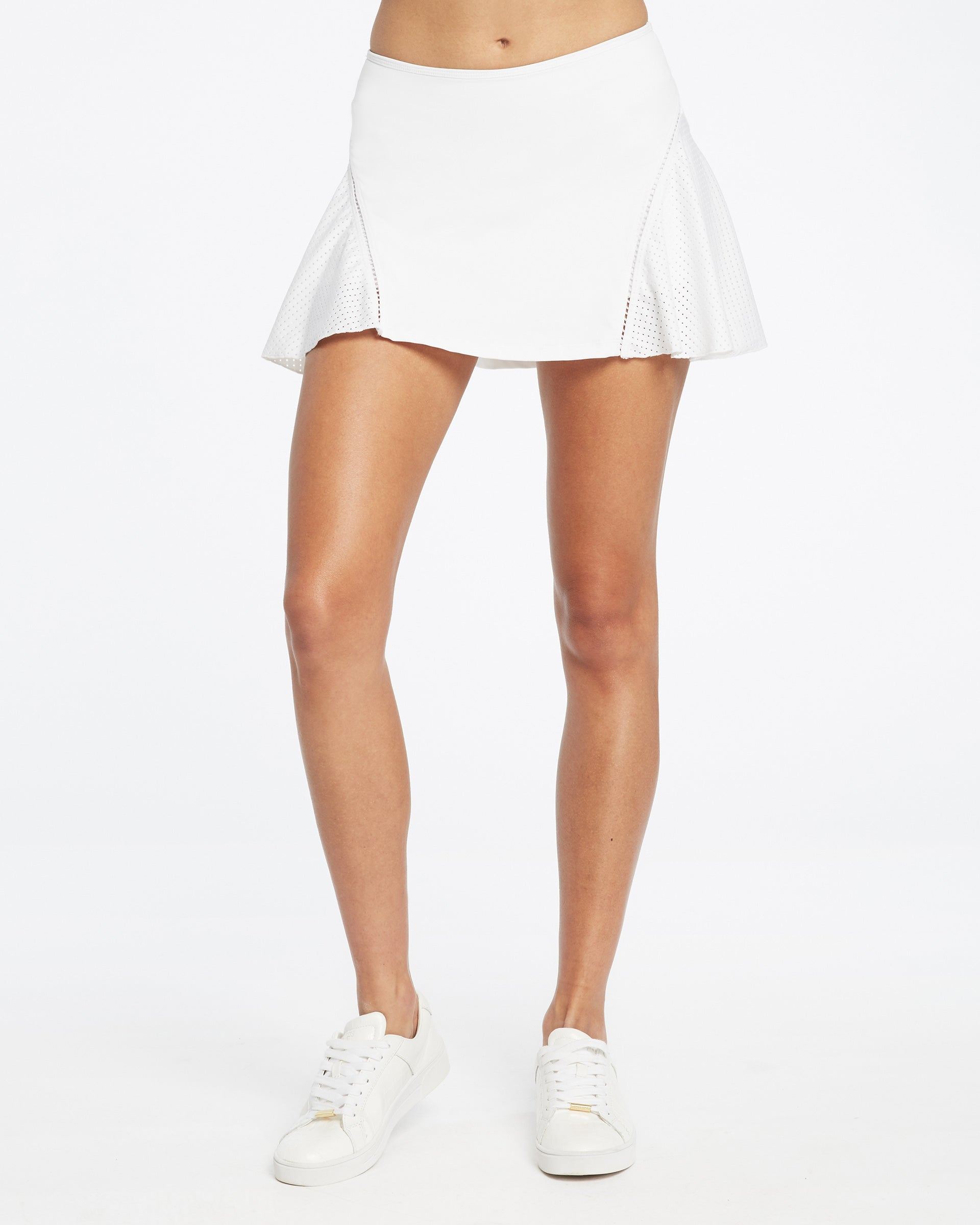 1-Love Tennis Skirt - White