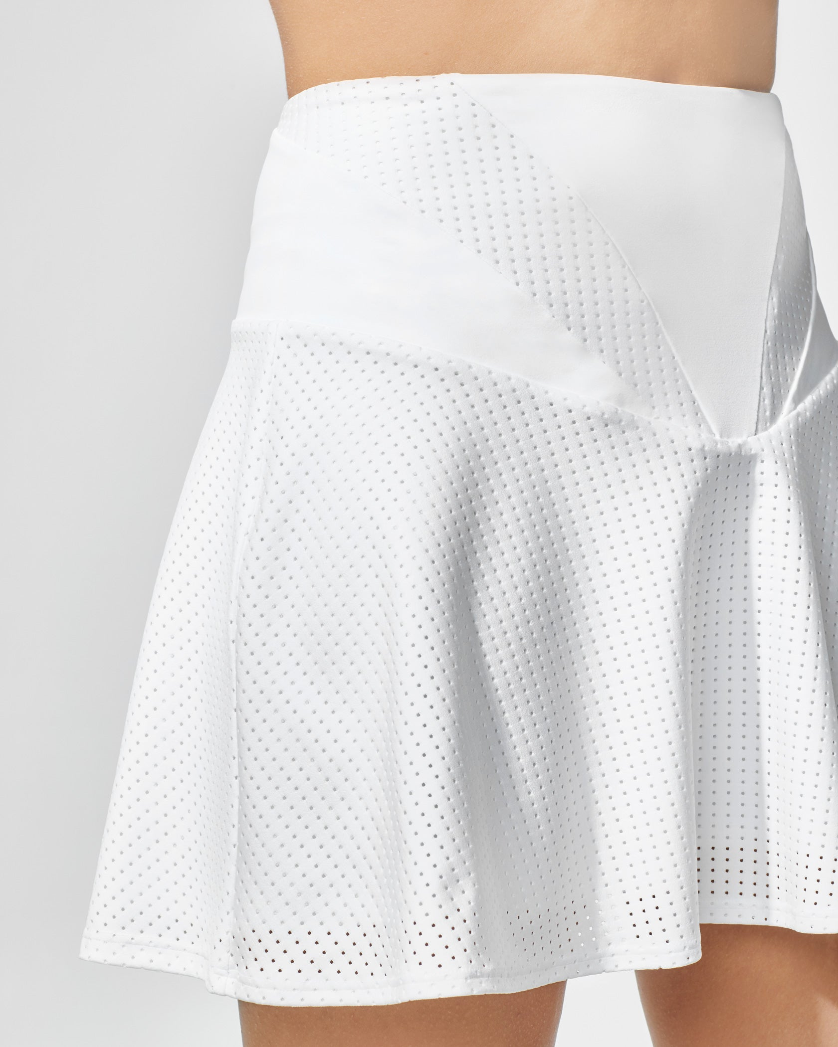 Ace Skirt - White