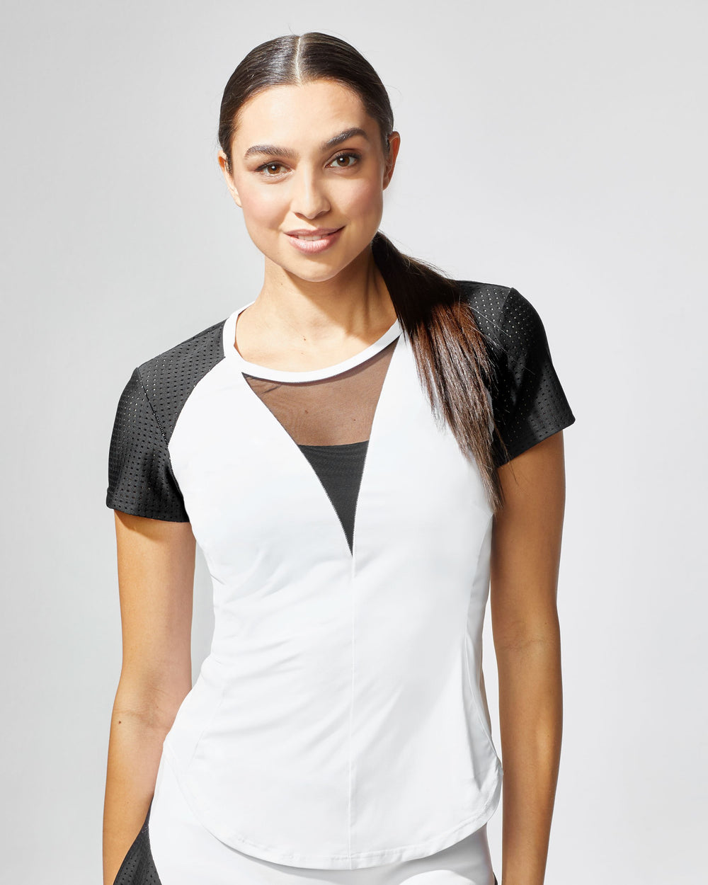 Ace Top - White/Black