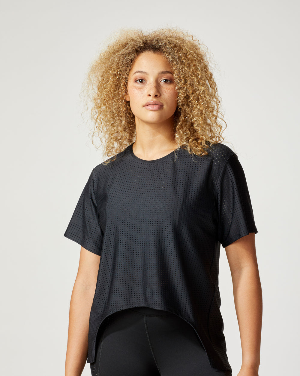 Airwave Tie Top - Black