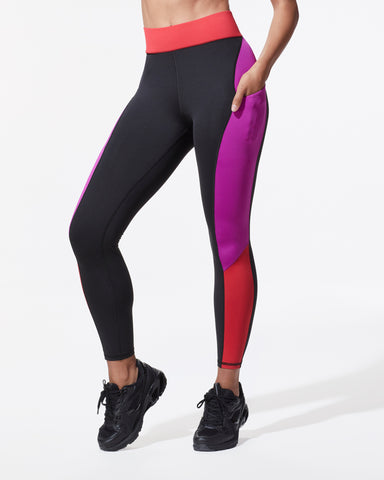 Alba Pocket Legging - Blaze