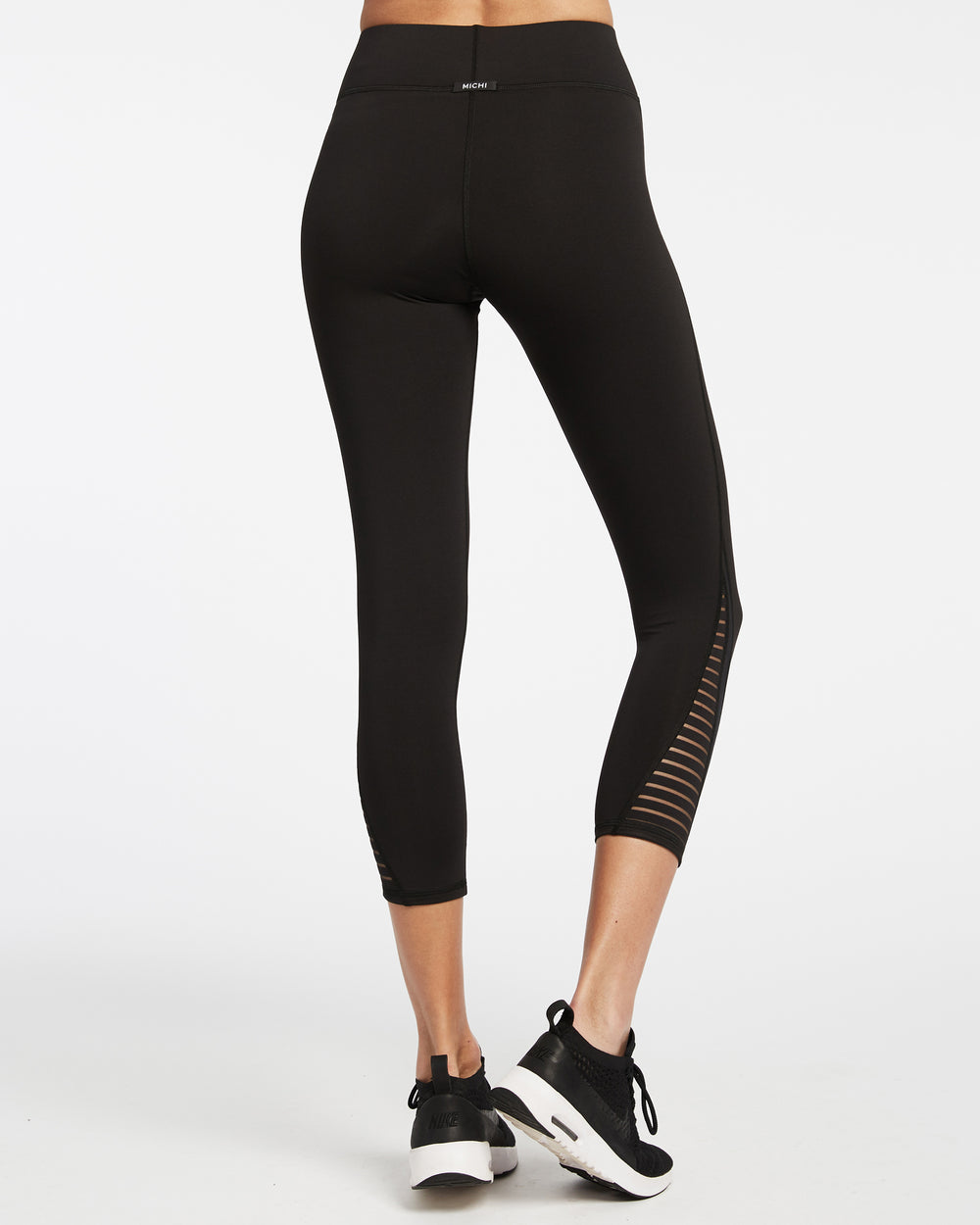 Apex Crop Legging - Black