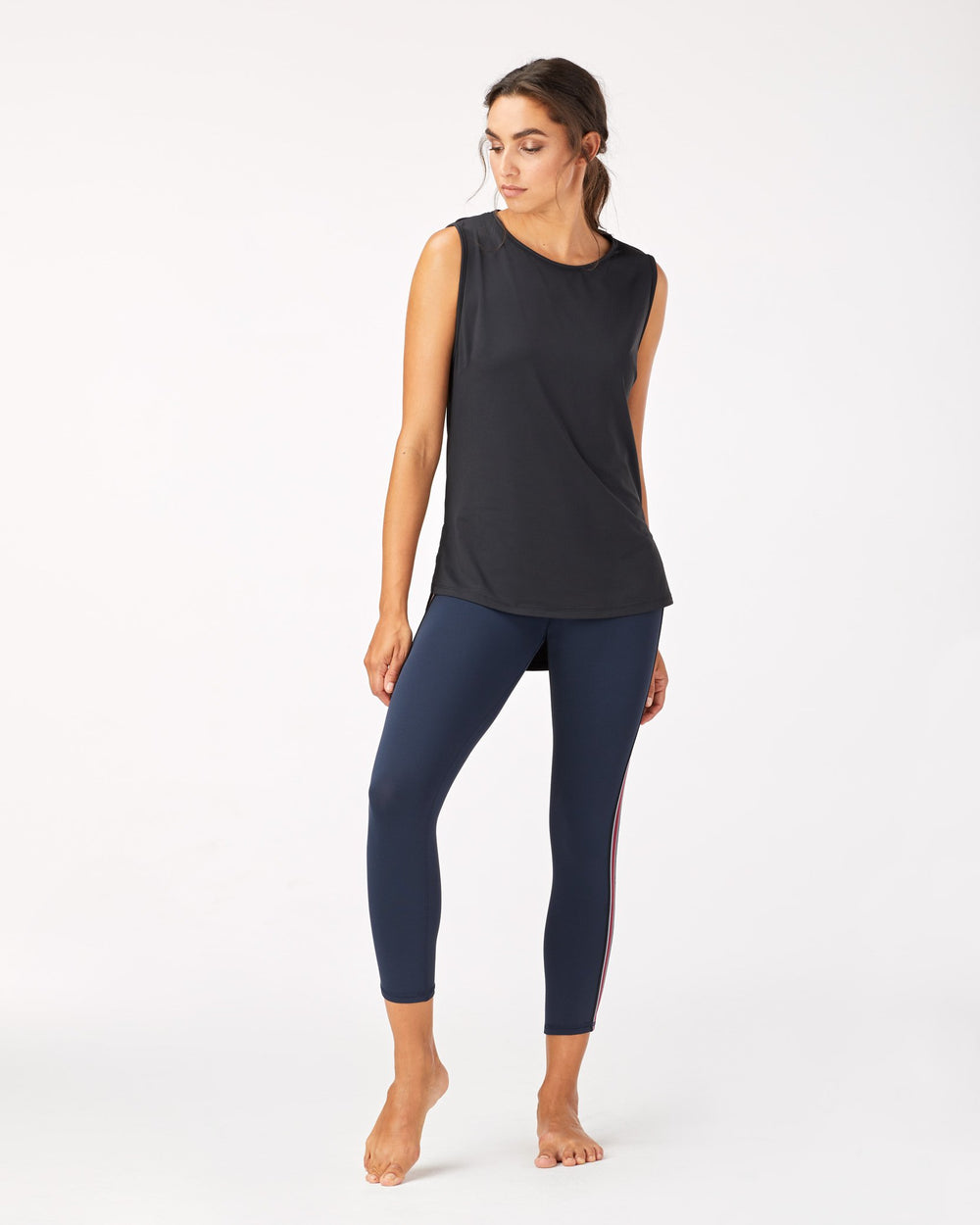 Ash Crop Legging - Deep Sea Navy