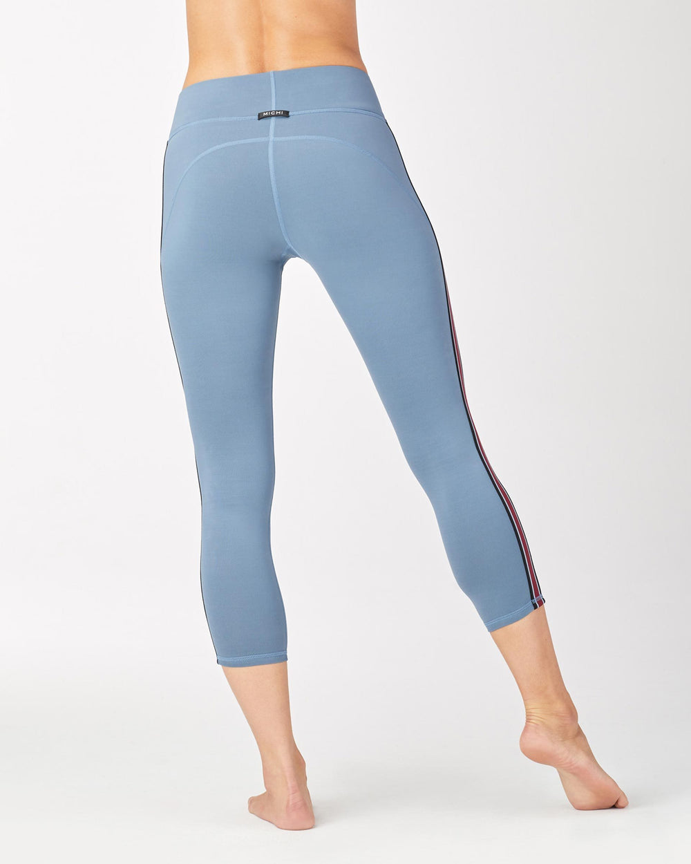 Ash Crop Legging - Storm Blue