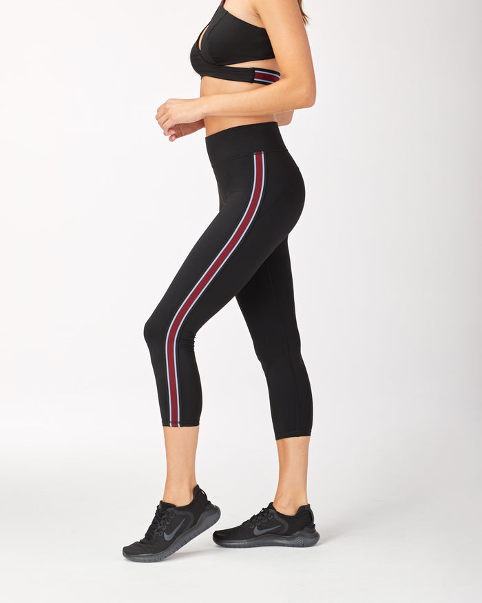 Ash Crop Legging - Black