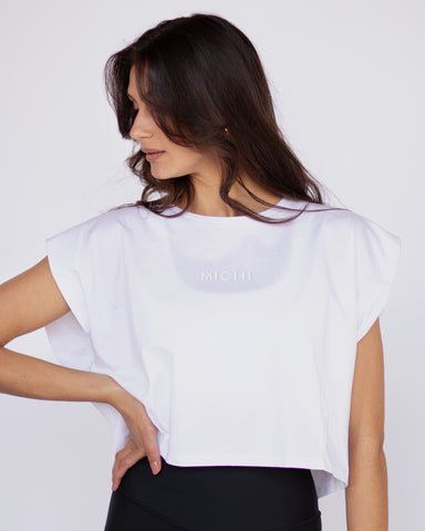 Aura Top - White