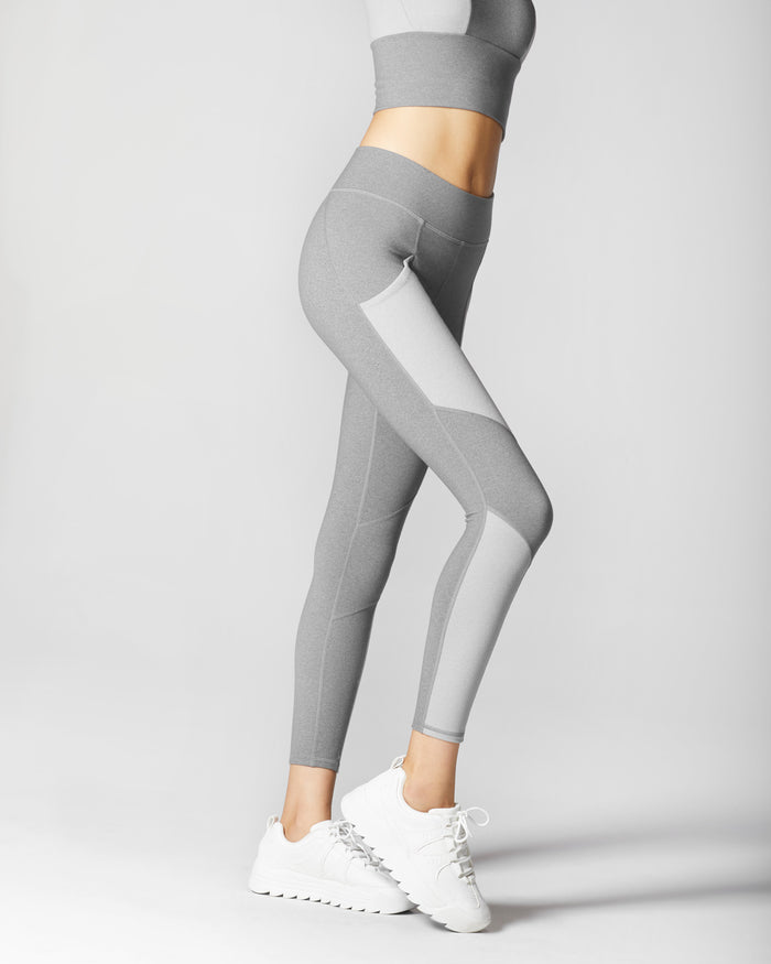 Aura Pocket Legging - Granite Grey